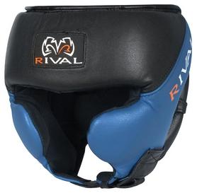 Шлем тренировочный Rival Hi Perf Training Headgear, черно-синий (FP-RHG)