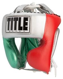 Шлем тренировочный Title Boxeo Money Metallic Training Headgear, красно-синий (FP-BAHGT2)