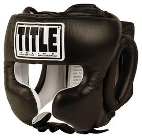Шлем тренировочный Title Pro Traditional Training Headgear, черный (FP-THGT)
