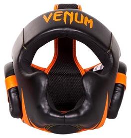 Шлем боксерский Venum Challenger 2.0 Headgear, черно-оранжевый (2962760005146)
