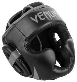 Шлем боксерский Venum Challenger 2.0 Headgear, черно-серый (2976890027480)