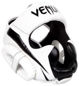 Шлем боксерский Venum Elite Headgear, белый (2976890016156)