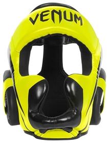 Шлем боксерский Venum Elite Headgear, желтый (2976890016118)