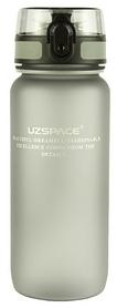 Бутылка для воды спортивная Uzspace 3037GR - серая, 650 мл
