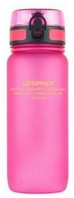 Бутылка для воды спортивная Uzspace 3037PK - розовая, 650 мл