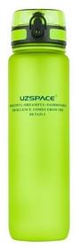 Бутылка для воды спортивная Uzspace 3038GN - зеленая, 1000 мл