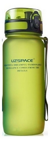Бутылка для воды спортивная Uzspace 3037GN - зеленая, 650 мл
