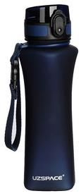 Распродажа*! Бутылка для воды спортивная Uzspace 6008DB - синяя, 500 мл