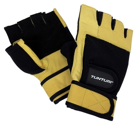 Перчатки для фитнеса Tunturi Fitness Gloves High Impact, желтый (14TUSFU25)