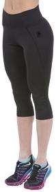 Лосины спортивные женские Berserk Berserk Commonly, черные (11171)