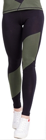 Лосины спортивные женские Berserk Cotton Comfort, зеленые (11582)