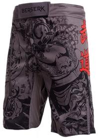 Шорты Berserk Samuray Kids, серые (SH1031G)