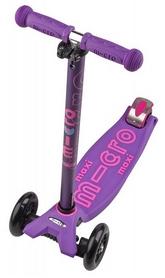 Самокат трехколесный Micro Maxi Deluxe, фиолетовый (800798757)
