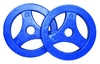 Диски для штанги Tunturi BodyPump Tunturi Aerobic Disk - синие, 2 шт по 2,5 кг (14TUSCL292) - фото 1