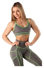 Топ женский Bersеrk Fitnet Melange, серый (T4409G)