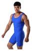 Трико борцовское мужское Berserk Wrestling Basic, синее (SI1103BLU) - Фото №3