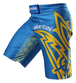 Шорты для MMA Berserk Hetman, синие (SH5430Bl)
