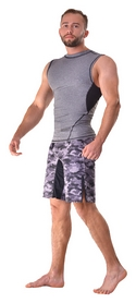 Шорты для MMA Berserk Tactical Force, камуфляжные (SH0167G)