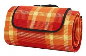 Коврик для пикника CDRep 123504, оранжевый