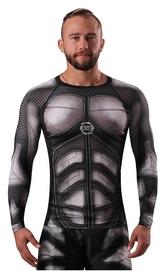 Рашгард для ММА с длинным рукавом Berserk Iron Men, черный (RS8907B)