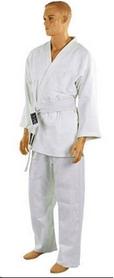 Фото 2 к товару Кимоно для дзюдо Combat Budo белое + пояс в подарок