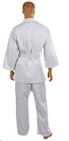 Фото 3 к товару Кимоно для дзюдо Combat Budo белое + пояс в подарок