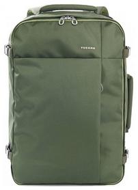 Рюкзак дорожный Tucano Tugo L Cabin 17,3, зеленый (BKTUG-L-V)