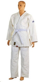 Кимоно для дзюдо Combat Budo повышенной плотности белое