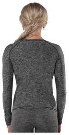 Рашгард с длинным рукавом Berserk Greatness Melange, серый (RS1693M) - Фото №2