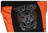 Рашгард с коротким рукавом Berserk Wolfs Stamina, черный (RS1663B) - Фото №5