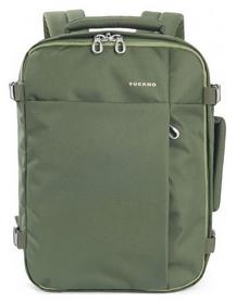 Рюкзак дорожный Tucano Tugo M Cabin 15,6, зеленый