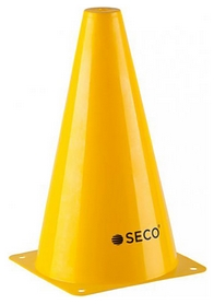 Конус тренировочный Secо - желтый, 23 см (18010504)