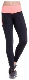 Лосины спортивные Berserk Fitnet, черно-розовые (L7035BF)