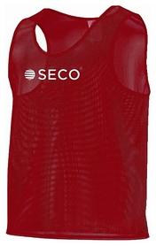 Накидка (манишка) тренировочная Secо, красная (18050103)