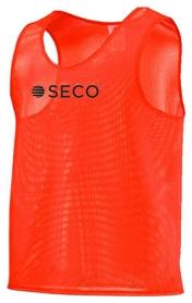 Накидка (манишка) тренировочная Secо, оранжевая (18050106)