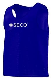 Накидка (манишка) тренировочная Secо, синяя (18050105)
