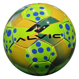 Мяч футбольный Alvic Diamond - желто-зеленый, №4