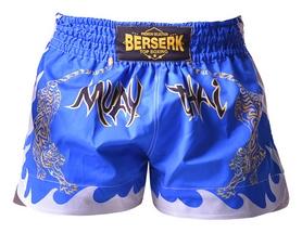 Шорты для единоборств Berserk Muay Thai Fighter, синие (TF8900Blu)