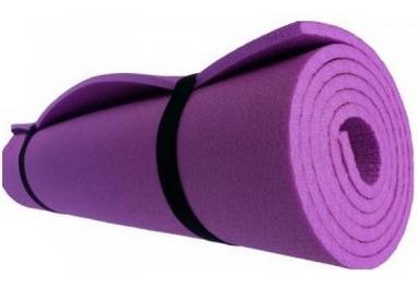 Коврик туристический (каремат) Mountain Outdoor Кемпинг - фиолетовый, 8 мм