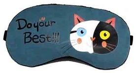 """Маска для сна CDRep """"Черно-белый кот"""" (123307)"""