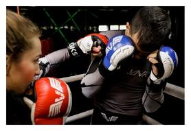 Перчатки MMA V'Noks Lotta, синие (VN-60059) - Фото №10