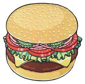 """Коврик пляжный CDRep """"Hamburger"""" (FO-121462)"""