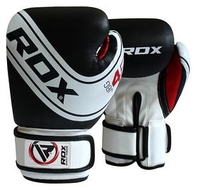 Боксерские перчатки детские RDX 4B Robo Boxing Gloves, черно-белые (1_10114)