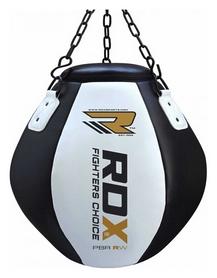 Груша боксерская апперкотная RDX - черно-белая, 30-40 кг (409_30116)