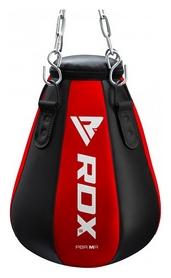Груша боксерская капля RDX Red New - черно-красная, 18-20 кг (2255_40261)