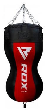 Груша боксерская силуэт RDX Red New - черно-красная, 50-60 кг (1932_40258)