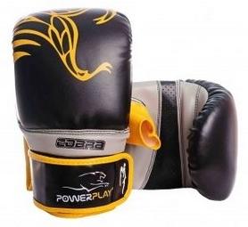 Перчатки боксерские PowerPlay Cobra 3038, желтые (3038-YL)
