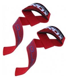 Лямки для тяги RDX Gel Pro Red, красные (327_20219)