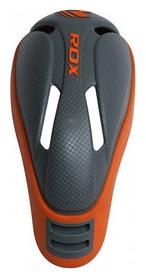 Защита паха (ракушка) MMA RDX Сarbon, серо-оранжевая (603_10709) - Фото №3