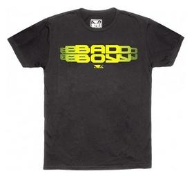 Футболка мужская Bad Boy Focus Charcoal, темно-серая (BB-240039)